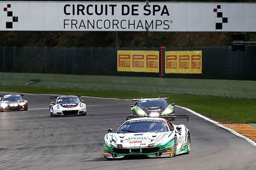 Spa 24 Hours: Fisichella Ferrari leads after six hours