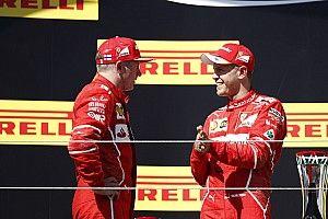Феттель заверил, что Ferrari не применяет командную тактику
