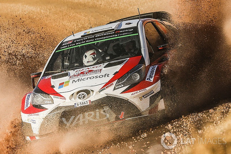 Toyota to sponsor Rally Australia