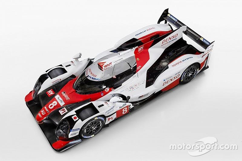 Toyota reveals its 2017 LMP1 challenger
