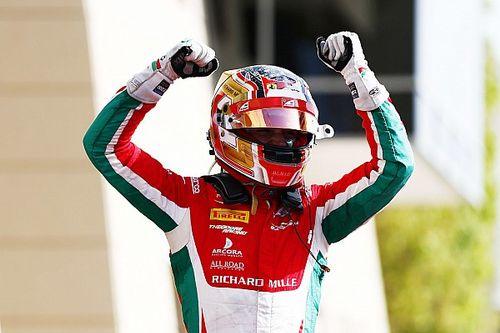 F2 Bahrein: Heroïsche zege Leclerc, De Vries zesde