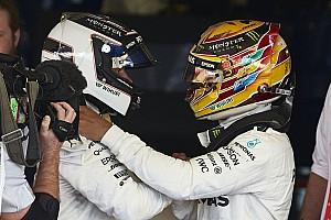 Formule 1 Actualités Mercedes ne craint pas de situation ingérable entre Hamilton et Bottas