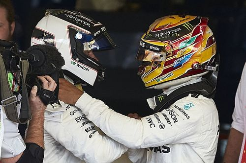 Bottas/Hamilton title fight will not sour relationship - Mercedes