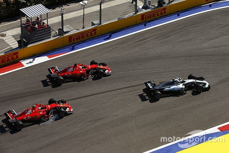 """Vettel: """"Verloor de race in de eerste bocht"""""""