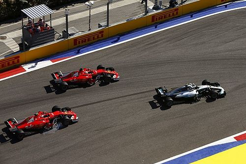 Formel 1 2017 in Sochi: Das Rennergebnis des GP Russland in Bildern