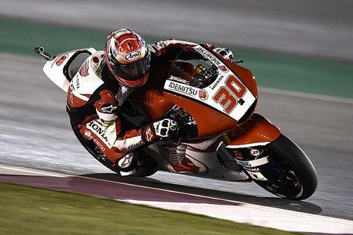 【Moto2カタール】金曜日:中上「総合4番手は好材料。予選に備える」