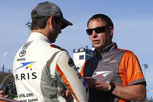 """Loss of Cup crew chief came as """"a surprise"""" for Daniel Suarez"""