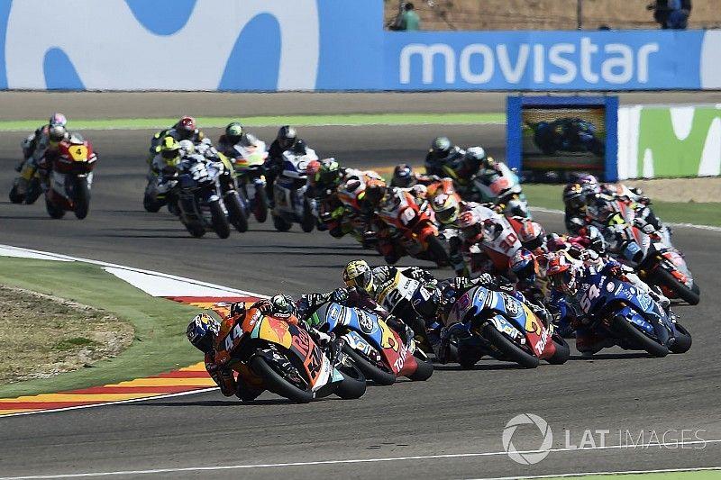 33 pilotes sur la grille du Moto2 en 2018
