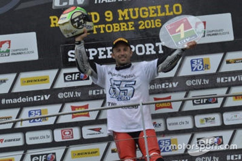CIV Supersport: Massimo Roccoli conquista il titolo 2016