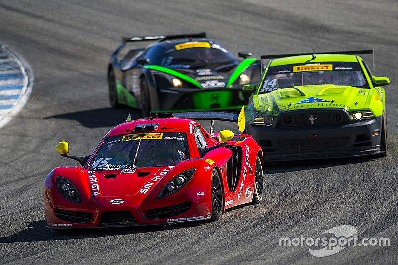 Heckert holds off Aquilante for GTS victory