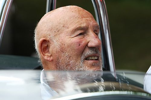 "Sir Stirling Moss stable in hospital after ""serious"" chest infection"