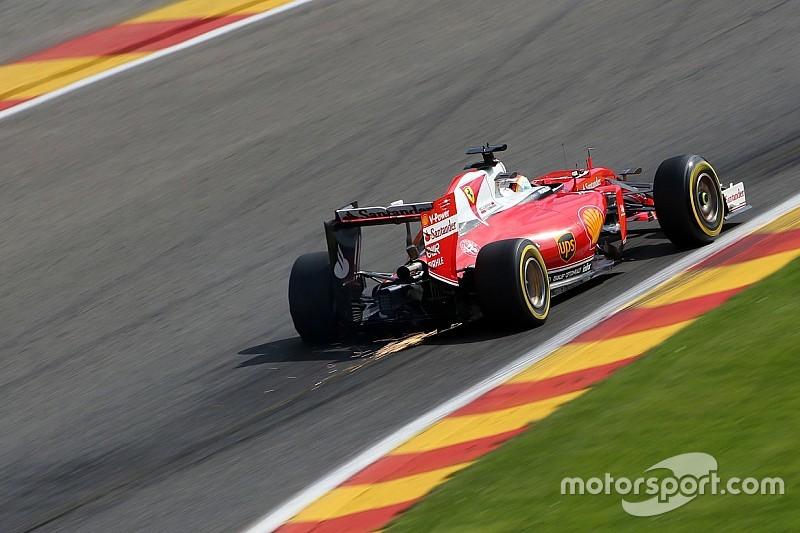 Vettel explains Q3 team radio outburst at Spa