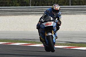 Malaysian MotoGP: Miller tops damp FP2, Marquez absent