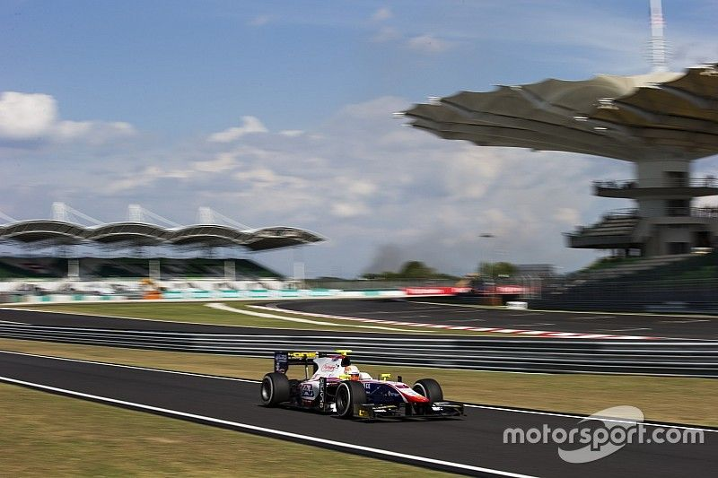 Sepang GP2: Ghiotto victorious, Gasly beats Giovinazzi to podium finish
