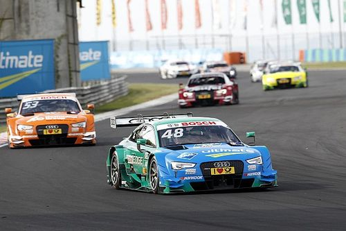 Hungaroring DTM: Mortara leads all-Audi top six in Race 1