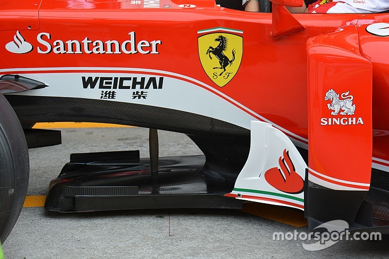 Технічний брифінг: Спліттер Ferrari SF16-H
