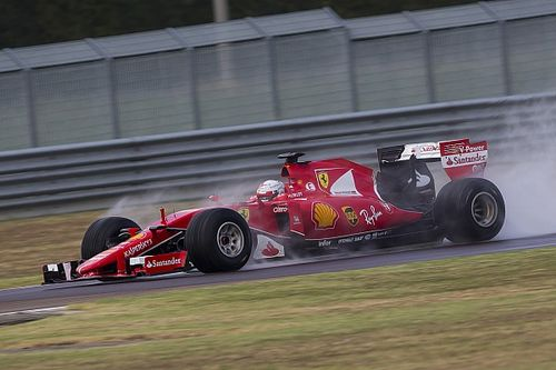 Ferrari forced to abandon Pirelli wet F1 test