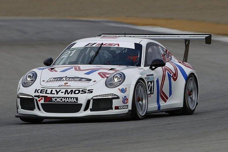 Canadian Jesse Lazare dominates Porsche GT3 Cup race in Virginia