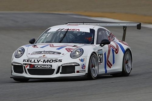 Canadian Jesse Lazare dominates Porsche GT3 Cup race in Virginia