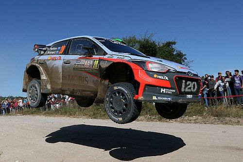 Hayden Paddon takes lead in Argentina on strong Saturday for Hyundai Motorsport