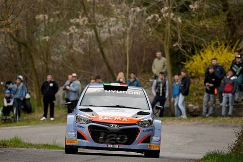 Manuel Sossella nell'IRC con Hyundai Italian Rally Team