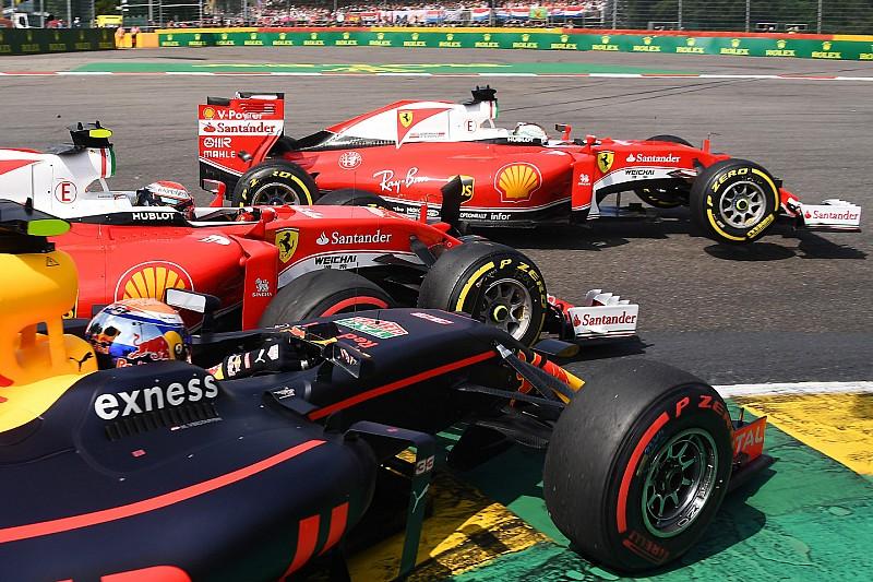 Na Ferrari, Vettel coleciona incidentes na 1ª volta; lembre