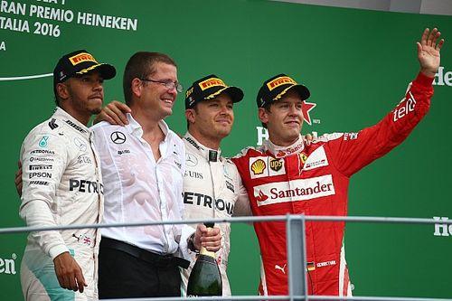 İtalya GP: Hamilton yavaş kalktı, Rosberg kazandı, fark 2'ye düştü!