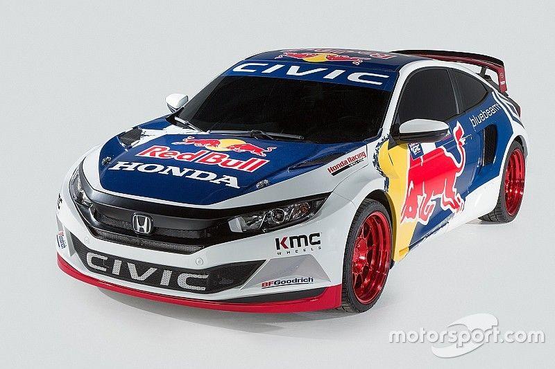 Civic Coupe FIA'nın Rallikros etkinliğine katılmak için onay aldı