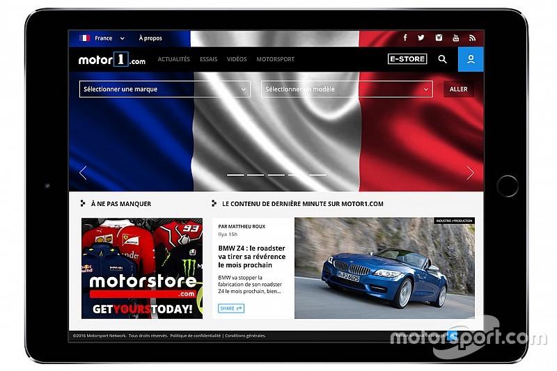 Motor1.com Umumkan Ekspansi di Eropa, Luncurkan Motor1.com-PERANCIS