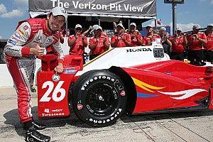 Carlos Munoz scores first IndyCar pole