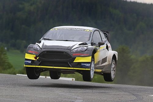 Norway WRX: Timerzyanov heads Bakkerud and Loeb in practice