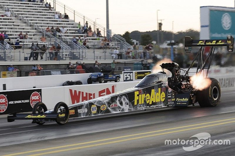 Pritchett, Hagan, Nobile and Hines race to No. 1 qualifiers on Saturday at Dodge NHRA Nationals
