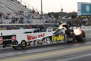 NHRA Qualifying report Pritchett, Hagan, Nobile and Hines race to No. 1 qualifiers on Saturday at Dodge NHRA Nationals