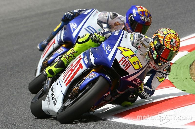 Rossi vê duelo com Lorenzo na Catalunha em 2009 como melhor atuação