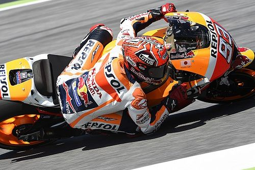 "Marquez could ""see that the victory was there"" for the taking"