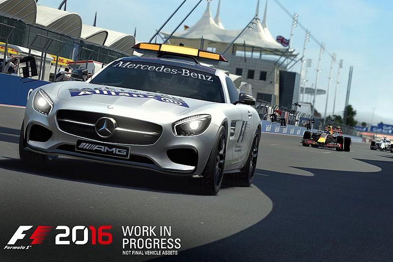 F1 2016 arrive cet été, avec la voiture de sécurité!