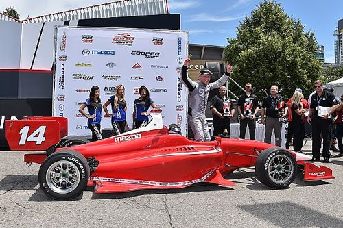 Rosenqvist completes perfect weekend in Toronto