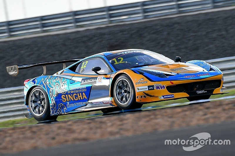 Repeat GT Asia Series victory for Singha Motorsport in Fuji