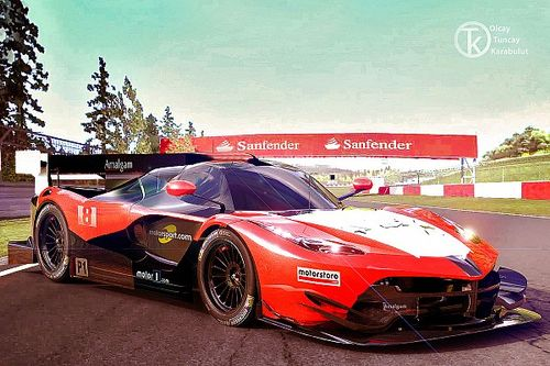 Le Mans için göz alıcı bir tasarım: Progetto 2020
