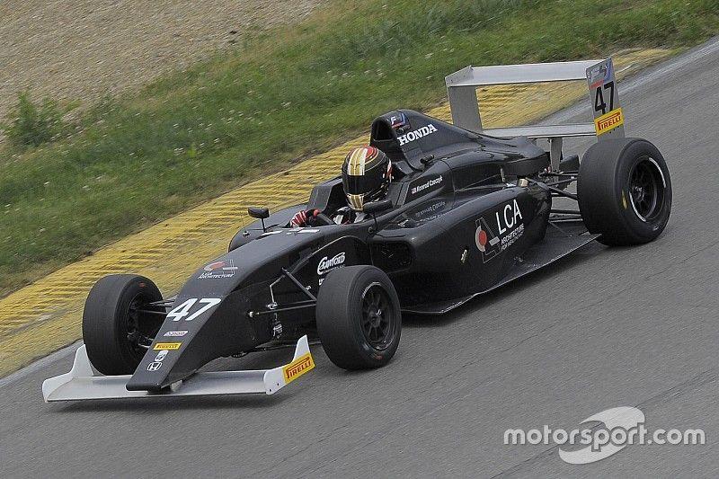 Czaczyk wins inaugural race of F4 US Championship