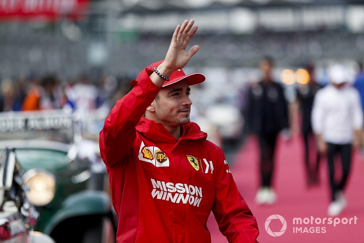 Leclerc összetörte a Ferrarit a teszten!