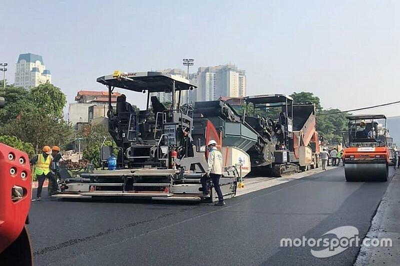 Megkapja az utolsó aszfaltréteget az F1-es Vietnami Nagydíj