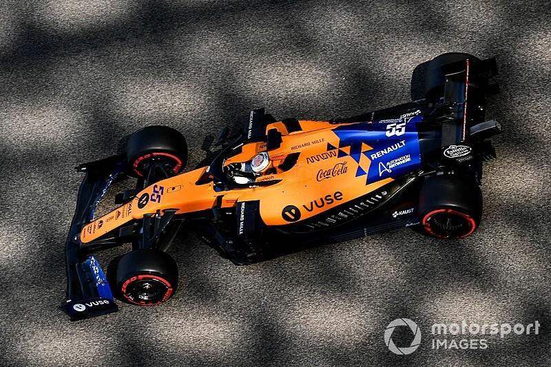 Sainz, 2020 McLaren aracı için koltuk ayarı yaptı