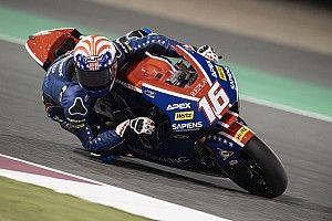 Moto2カタール予選:同タイムの決着、ロバーツが初PP獲得。長島は14番手に