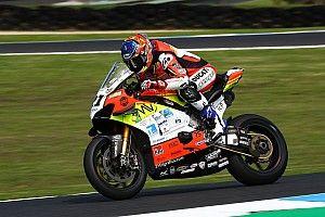 Jerez WSBK: İkinci antrenmanın en hızlısı Rinaldi, Toprak geride kaldı