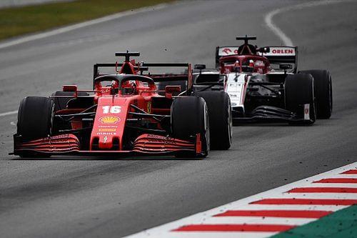 A Ferrari és az AlphaTauri lassabb volt, mint tavaly, a Williams javított a legtöbbet