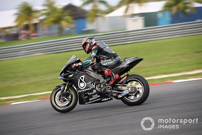 MotoGPセパンテスト3日:クアルタラロ3日連続首位。マルケスまたもクラッシュ