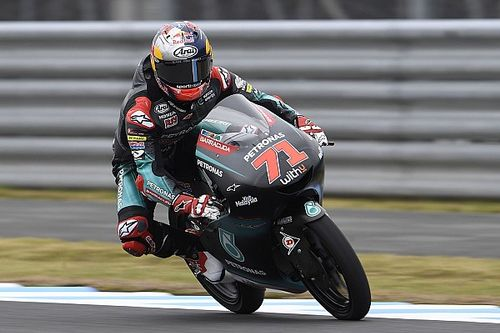 Moto3日本WUP:佐々木歩夢3番手タイム! フロントロウの鈴木7番手