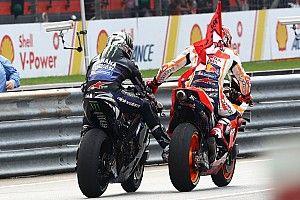 """Márquez: """"Me doía todo o corpo, mas Viñales foi o mais rápido hoje"""""""
