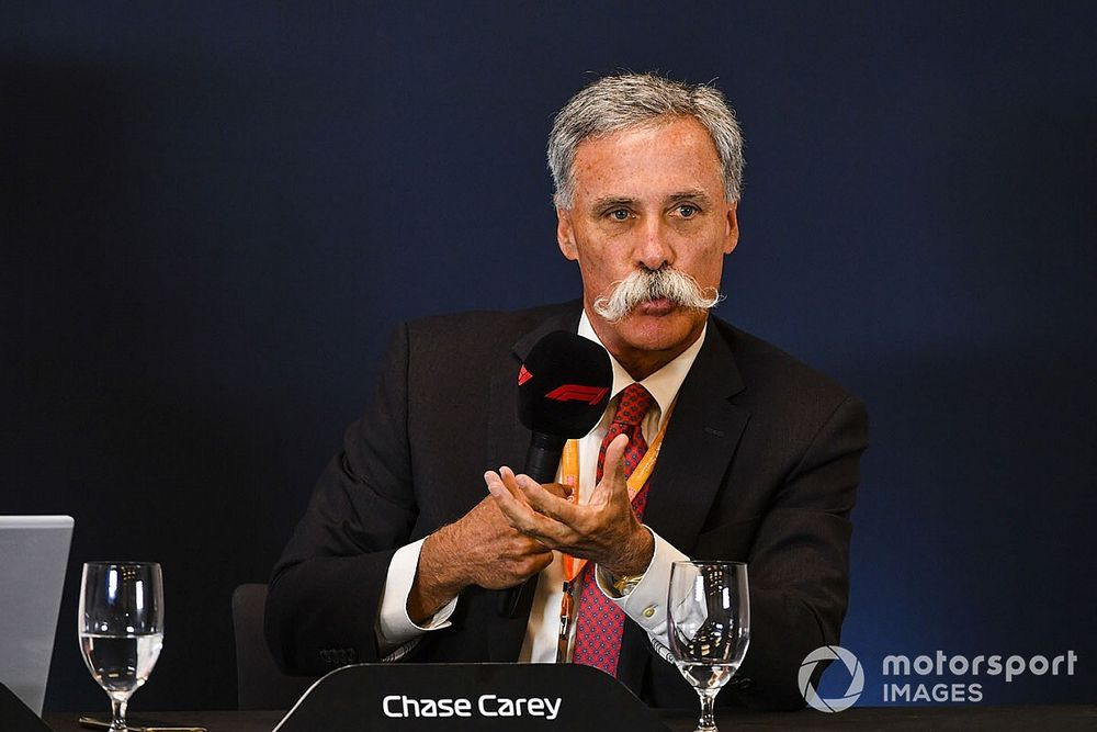 """Carey: Revised F1 calendar will be """"15-18"""" races"""